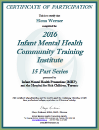 Infant Mental Health Community Training